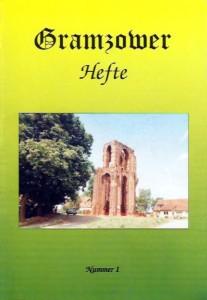 Gramzower Hefte, Heft 1 (1996)