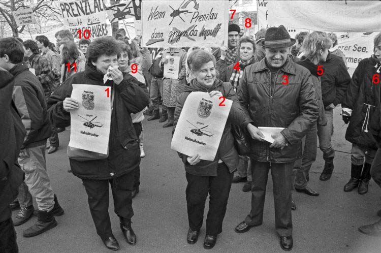 Bild 2: 1990 Demo in Berlin