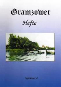 Gramzower Hefte, Heft 4 (2001)