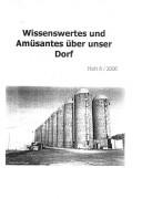 Dedelow – Wissenswertes uns Amüsantes über unser Dorf. (Heft 6, 2006)