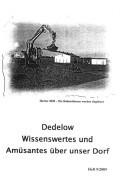 Dedelow – Wissenswertes uns Amüsantes über unser Dorf. (Heft 9, 2009)