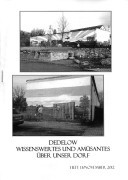 Dedelow – Wissenswertes uns Amüsantes über unser Dorf. (Heft 13, 2012)