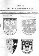 Der Uckermärker Mitteilungsblatt 1989 – Heimatkreis Templin