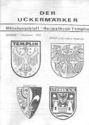 Der Uckermärker Mitteilungsblatt 1990 – Heimatkreis Templin