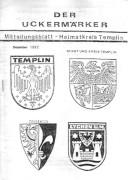 Der-Der Uckermärker Mitteilungsblatt 1992 – Heimatkreis Templin