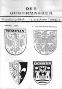 Der-Der Uckermärker Mitteilungsblatt 1993 – Heimatkreis Templin
