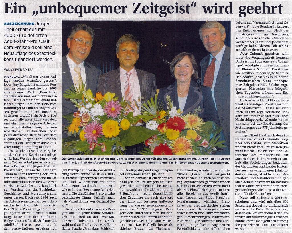 Prenzlauer Zeitung: 28.04.2009