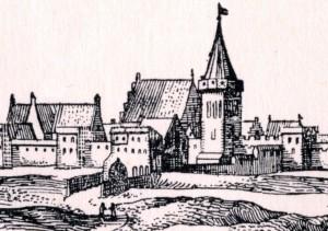 Steintor nach Merian, um 1650