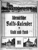 Uckermärkischer Volks-Kalender für Stadt und Land 1911.