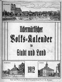 Uckermärkischer Volks-Kalender für Stadt und Land 1912.