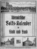 Uckermärkischer Volks-Kalender für Stadt und Land 1914.