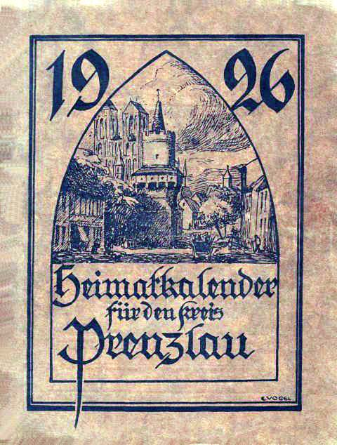 Heimatkalender Prenzlau 1926
