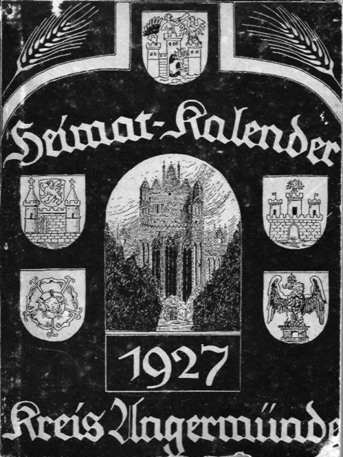 Heimat-Kalender Kreis Angermünde 1927