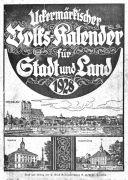Uckermärkischer Volks-Kalender für Stadt und Land 1928.