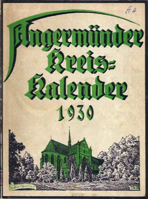 Angermünder Kreis-Kalender 1930