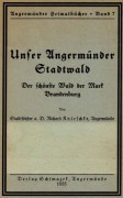 Angermünder Heimatbücher, Band 07, 1935