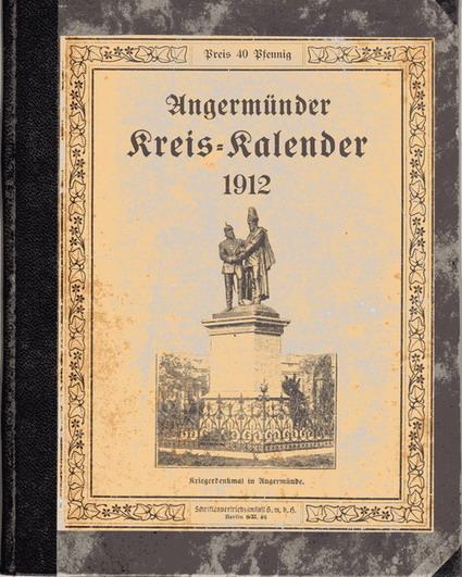 Heimatkalender Angermünde 1912