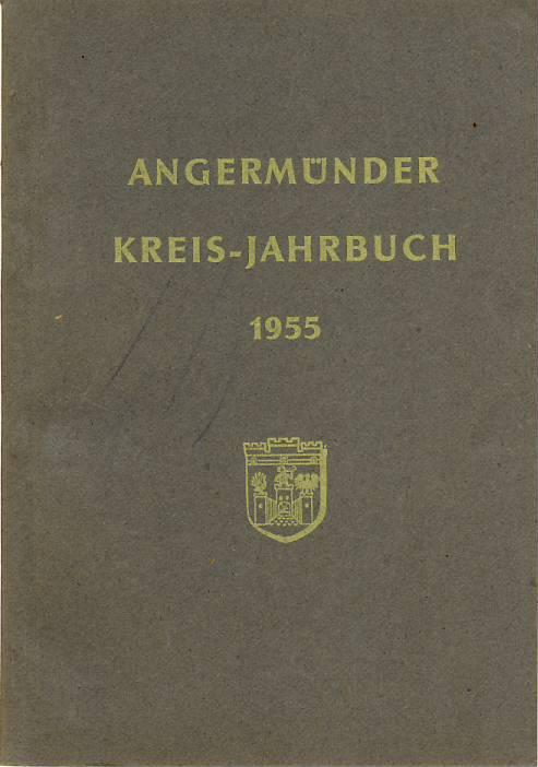 Heimatkalender Angermünde 1955