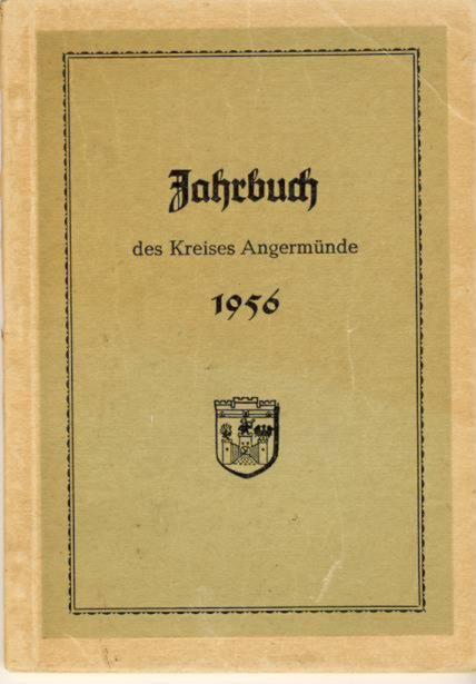 Heimatkalender Angermünde 1956