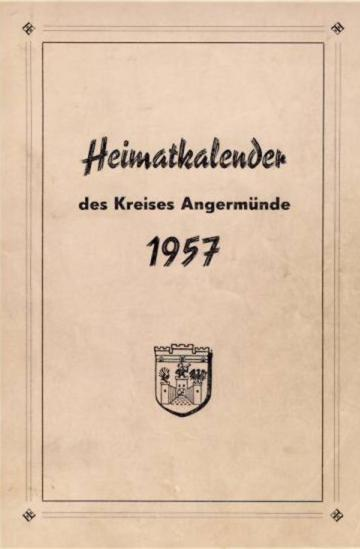 Heimatkalender Angermünde 1957