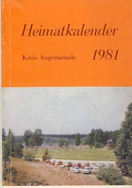 Heimatkalender Angermünde 1981