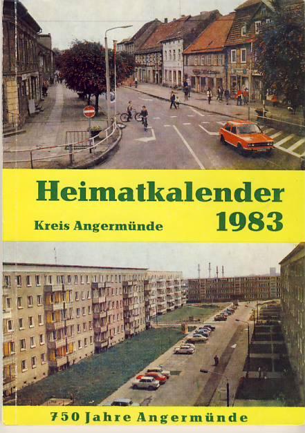 Heimatkalender Angermünde 1983