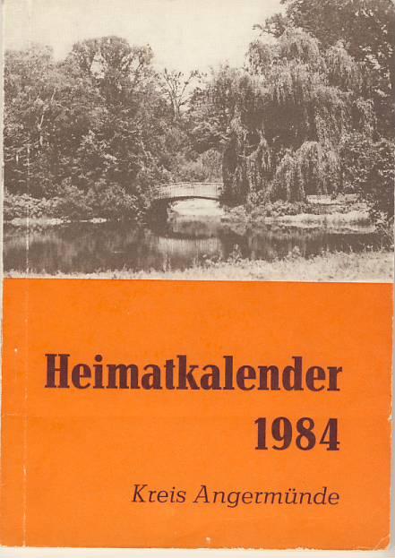 Heimatkalender Angermünde 1984