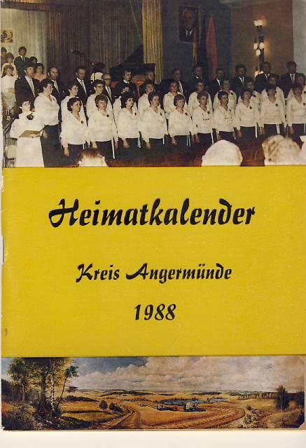 Heimatkalender Angermünde 1988