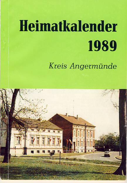 Heimatkalender Angermünde 1989