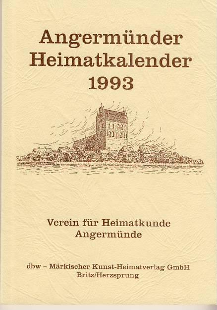 Heimatkalender Angermünde 1993