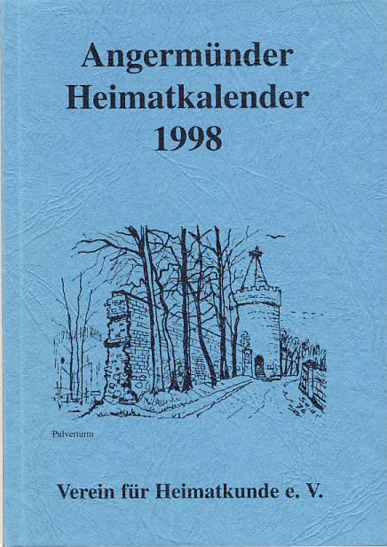Heimatkalender Angermünde 1998