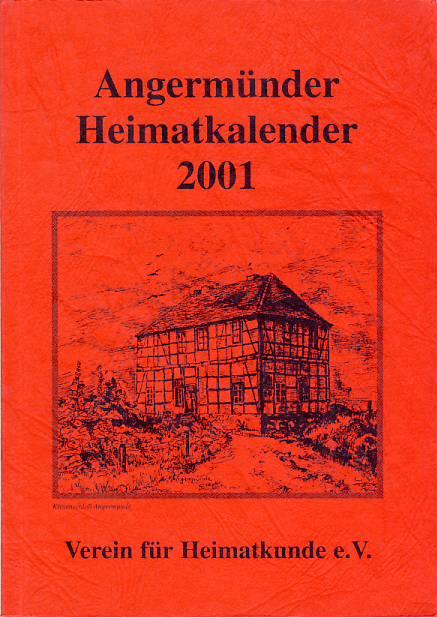 Heimatkalender Angermünde 2001