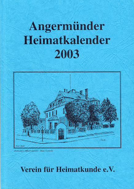 Heimatkalender Angermünde 2003