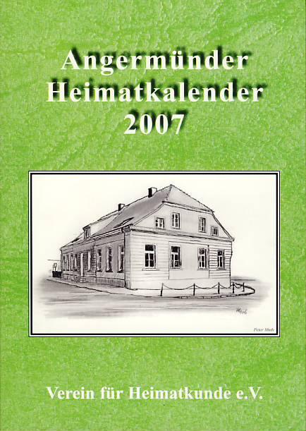 Heimatkalender Angermünde 2007