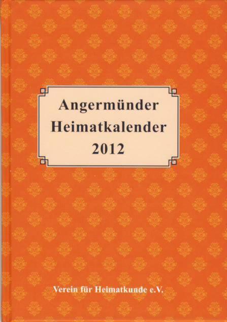 Heimatkalender Angermünde 2012