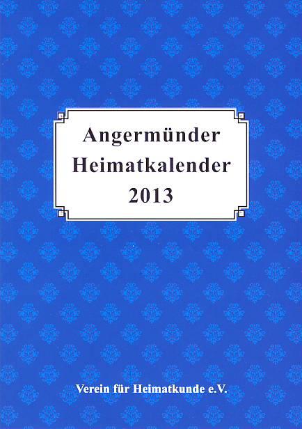 Heimatkalender Angermünde 2013
