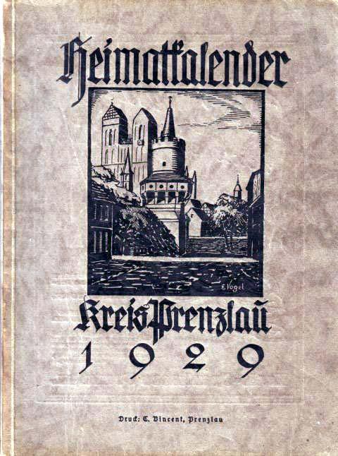 Heimatkalender Prenzlau 1929