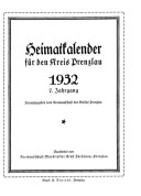 Heimatkalender Prenzlau 1932
