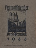 Heimatkalender Prenzlau 1933