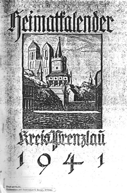 Heimatkalender Prenzlau 1941
