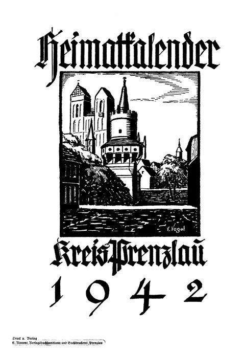 Heimatkalender Prenzlau 1942