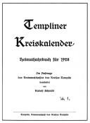 Heimatkalender Templin 1928