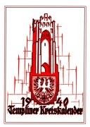 Heimatkalender Templin 1940