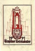 Heimatkalender Templin 1991