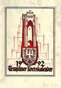 Heimatkalender Templin 1992