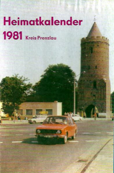 Heimatkalender Prenzlau 1981