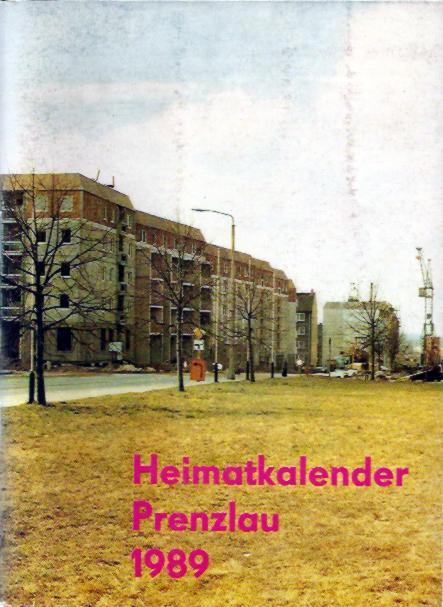 Heimatkalender Prenzlau 1989
