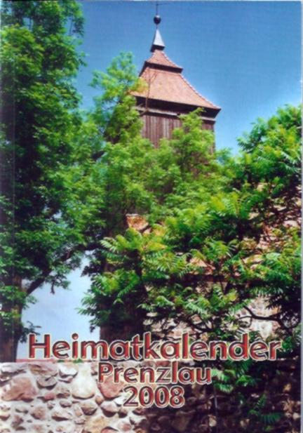Heimatkalender Prenzlau 2008