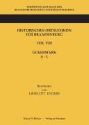 L. Enders: Historisches Ortslexikon Brandenburg, Uckermark, A-L (1986):