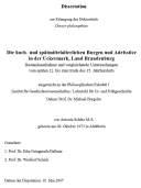 Antonia Schütz: Die hoch- und spätmittelalterlichen Burgen und Adelssitze in der Uckermark, Land Brandenburg. (2007)